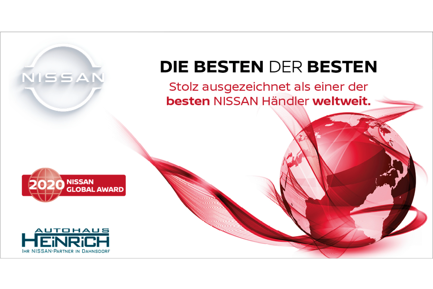 NISSAN GLOBAL AWARD 2020
