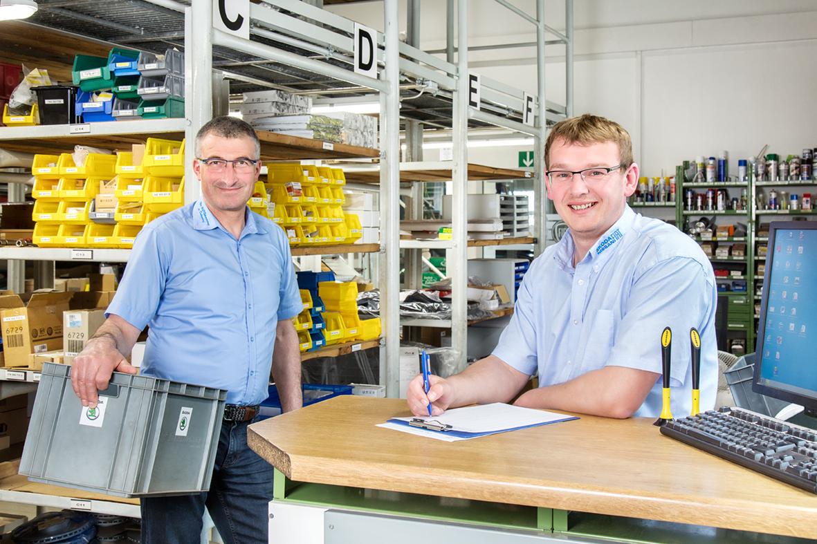 Ingolf Kienow und Roy Gevatter
