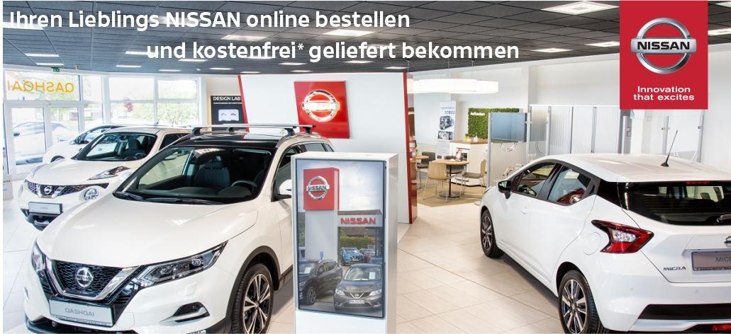 Wir liefern kostenfrei Ihren NISSAN – Sie bleiben mobil