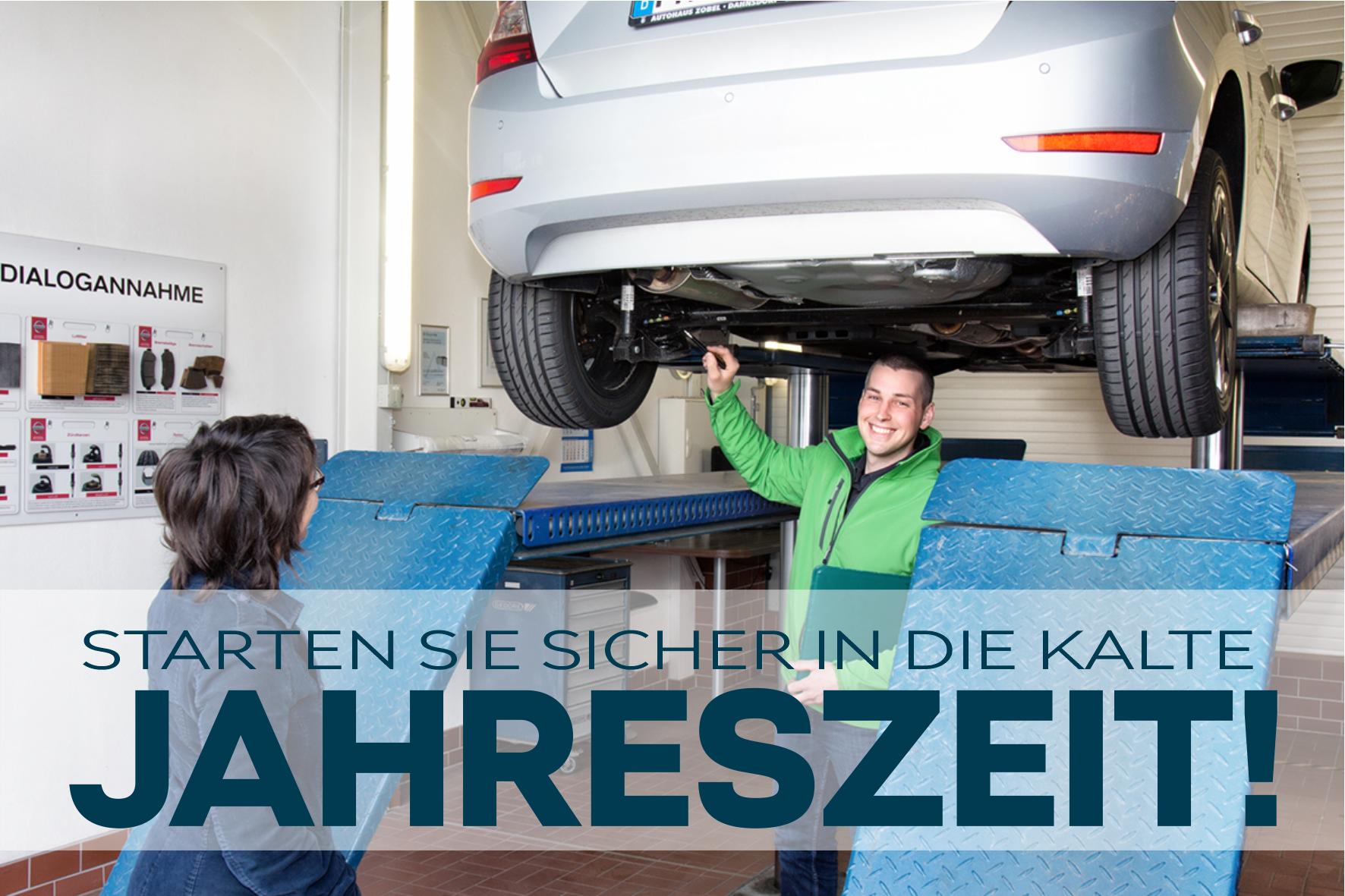 Wir bringen Ihr Fahrzeug sicher durch den Winter!